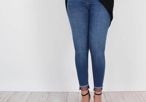 Queen Hearts Fishnet jeans