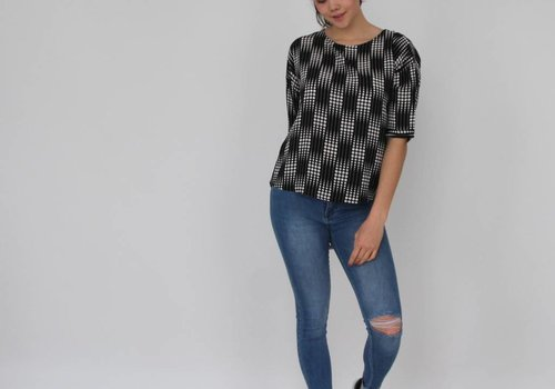 Queen Hearts Paris jeans