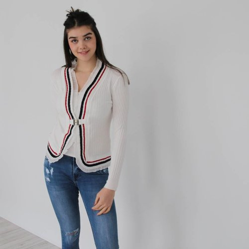 Laetitia Mem France cardigan