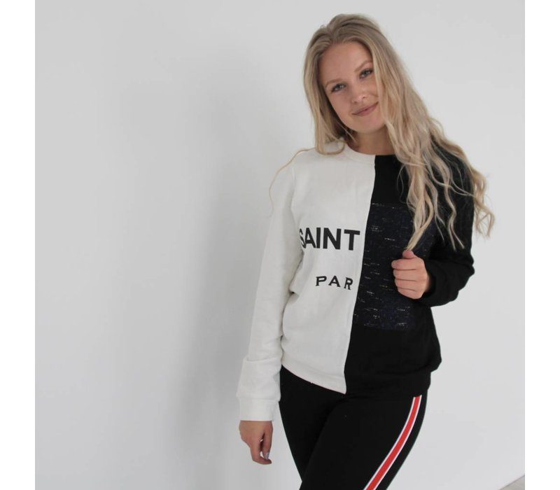 saint sweater black