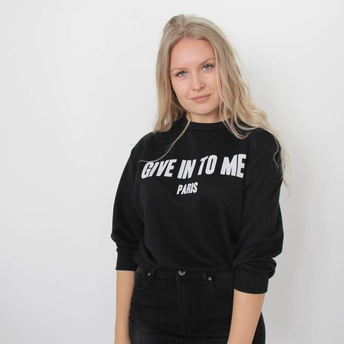 Give In sweater