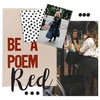 Stippen liefde: Print x Rood