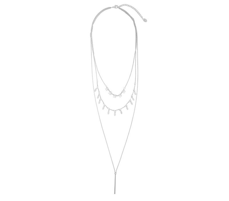 Necklace chic charms silver