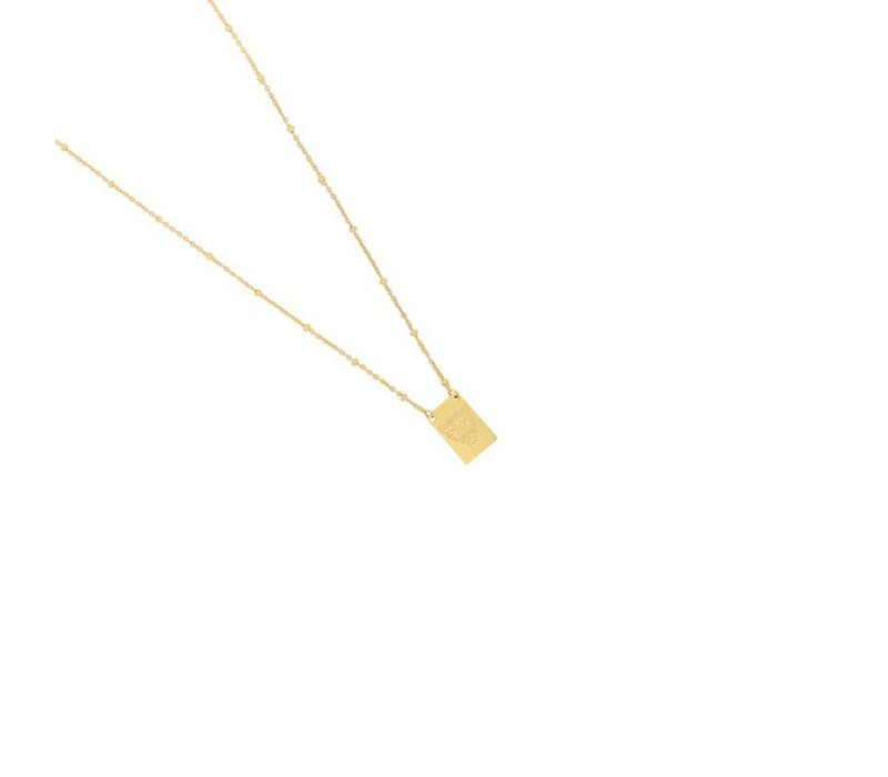 Necklace wild gold