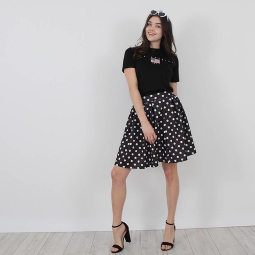 Revadelle Outfit dots skirt