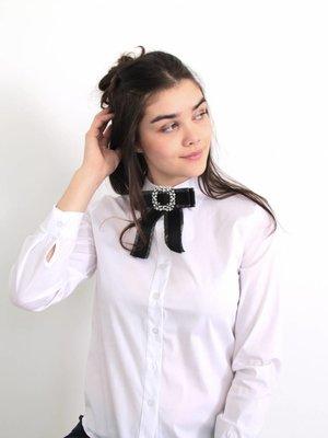 Turqouise by Daan Blanc blouse short