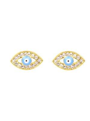 Yehwang Earrings blue eyes