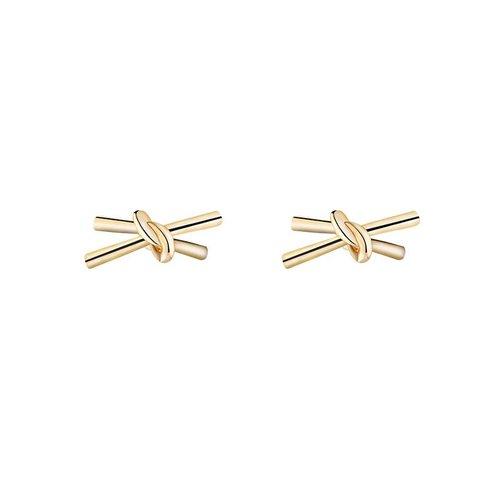 Yehwang Earrings double knot