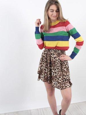 Vintage Dressing Leopard party skirt