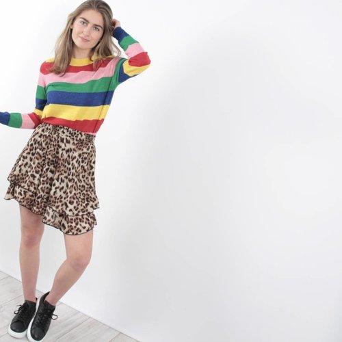 Laetitia Mem Lurex stripes jumper