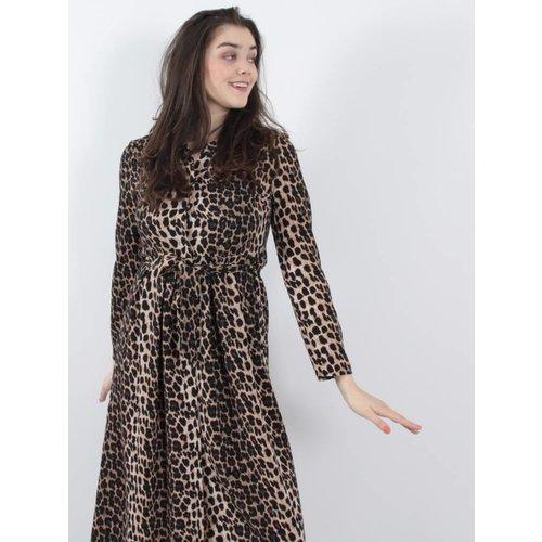 Ambika Leopard dress maxi