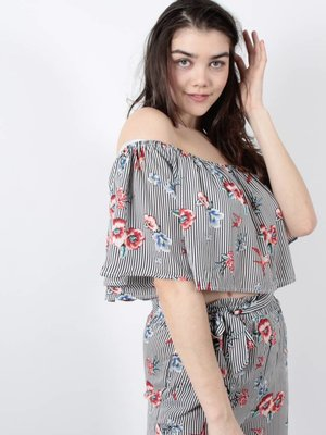Cherry Koko Lucky striped top