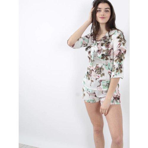 By Clara Jungle blouse