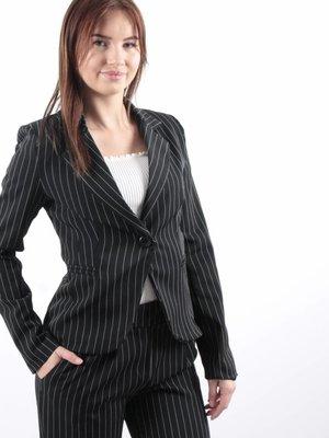 Miss one Striped blazer