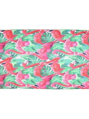 Yehwang Beach towel long flamingo jungle