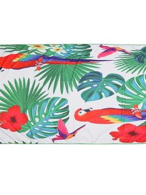 Yehwang Beach towel long parrot jungle