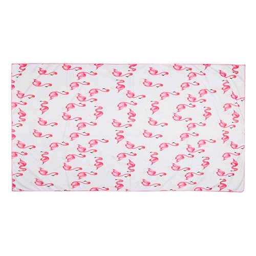 Yehwang Beach towel long flamingo posse