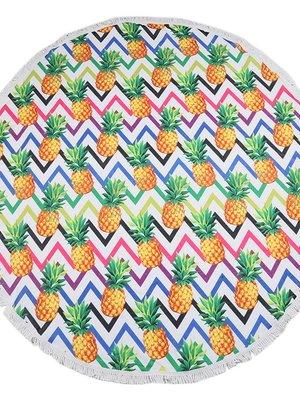 Yehwang Beach towel funky pineapples