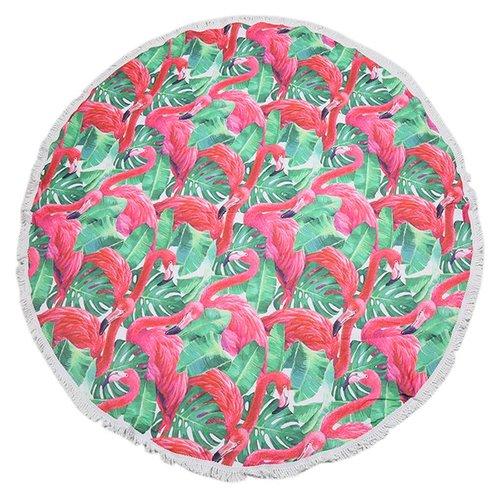 Yehwang Beach towel flamingo jungle