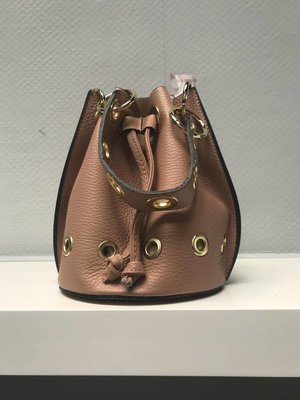 Leather pouch bag N