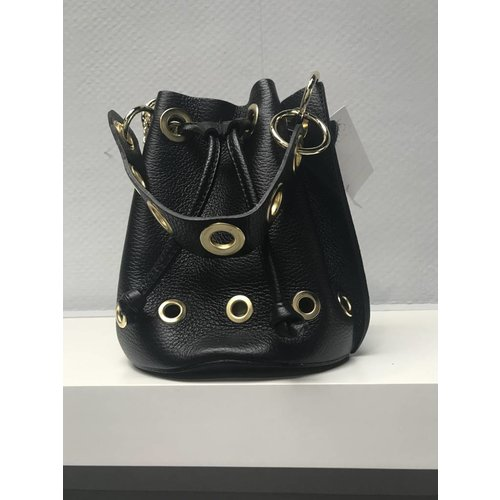 Leather pouch bag B