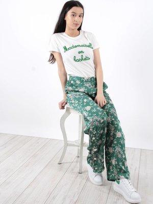 Vintage Dressing Mademoiselle en baskets t-shirt