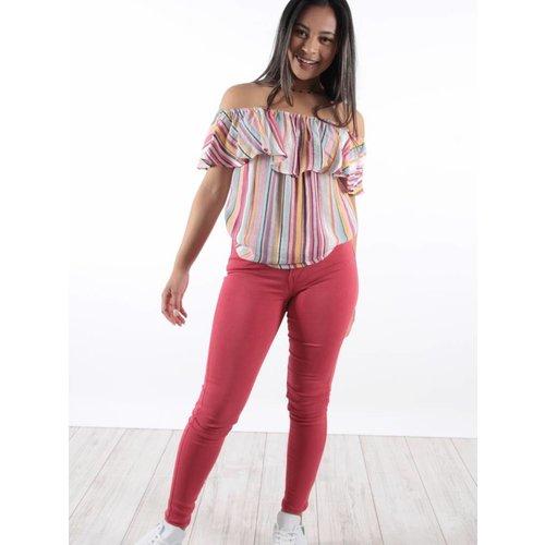 Toxik Red jeans L185-71
