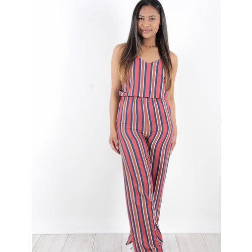 Ivivi Jumpsuit red stripes