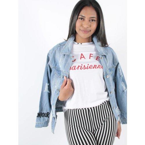 Cherry Koko Jeans Jacket Bonjour