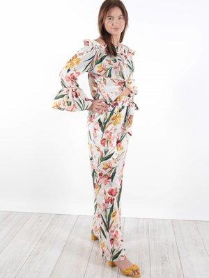 Cherry Koko Flower pants ruffle