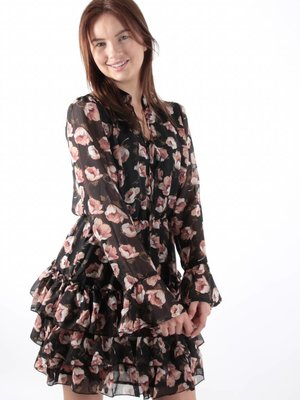 Ivivi Flower ruffle dress