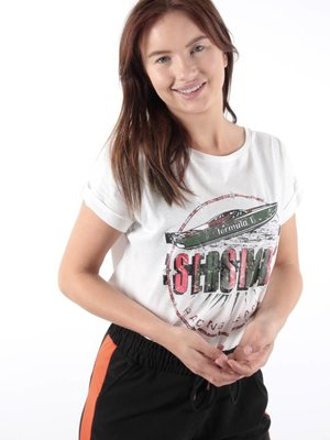 Sweewë Sershore T-shirt white