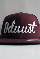9DUUST maroon/maroon 9duust 3D emby white