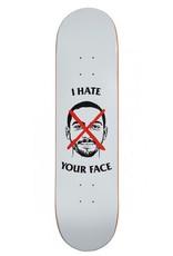 """SKATE MENTAL SKATE MENTAL, DECKS, WIEGER - I HATE YOUR 1 FACE 8.125"""", 8.125"""" x 31.625"""""""