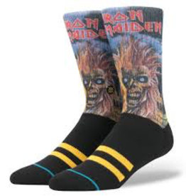 STANCE STANCE, MEN, IRON MAIDEN, BLACK, M