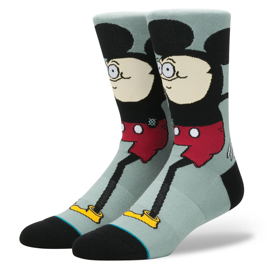 STANCE STANCE, MENS, HOWELL MOUSE, BLUE, L