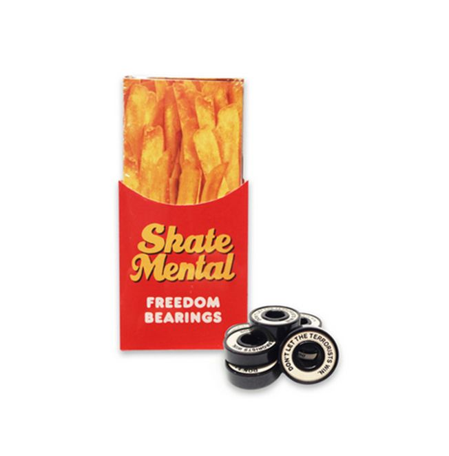 SKATE MENTAL SKATE MENTAL, BEARINGS, FREEDOM BEARINGS