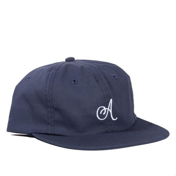 ALLTIMERS ALL TIMERS CLASSIC A HAT NAVY
