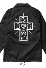 DIAMOND DIAMOND, DIAMOND DOG COACHES JACKET, BLACK