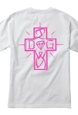 DIAMOND DIAMOND, DMND X DOGTOWN DIAMOND DOG TEE, WHITE