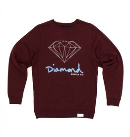DIAMOND DIAMOND, OG SIGN CREW NECK