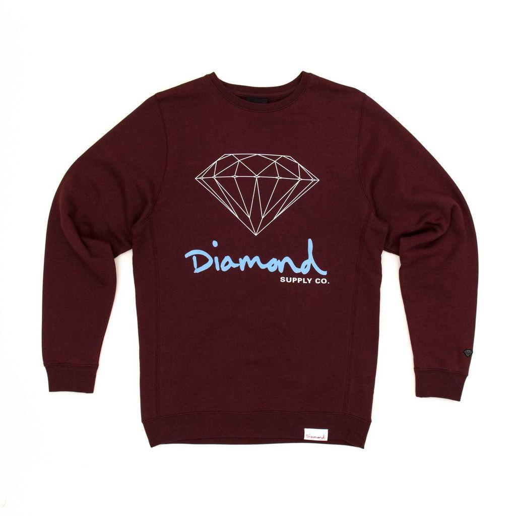 DIAMOND DIAMOND, OG SIGN CREW NECK