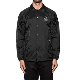 HUF HUF, TRIPLE TRIANGLE COACHES JACKET, BLACK
