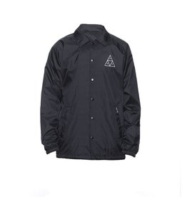 HUF HUF, 420 PLANTLIFE COACHES JACKET, BLACK