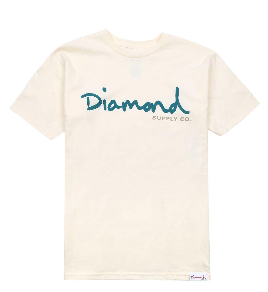 DIAMOND DIAMOND, OG SCRIPT FALL 17 TEE