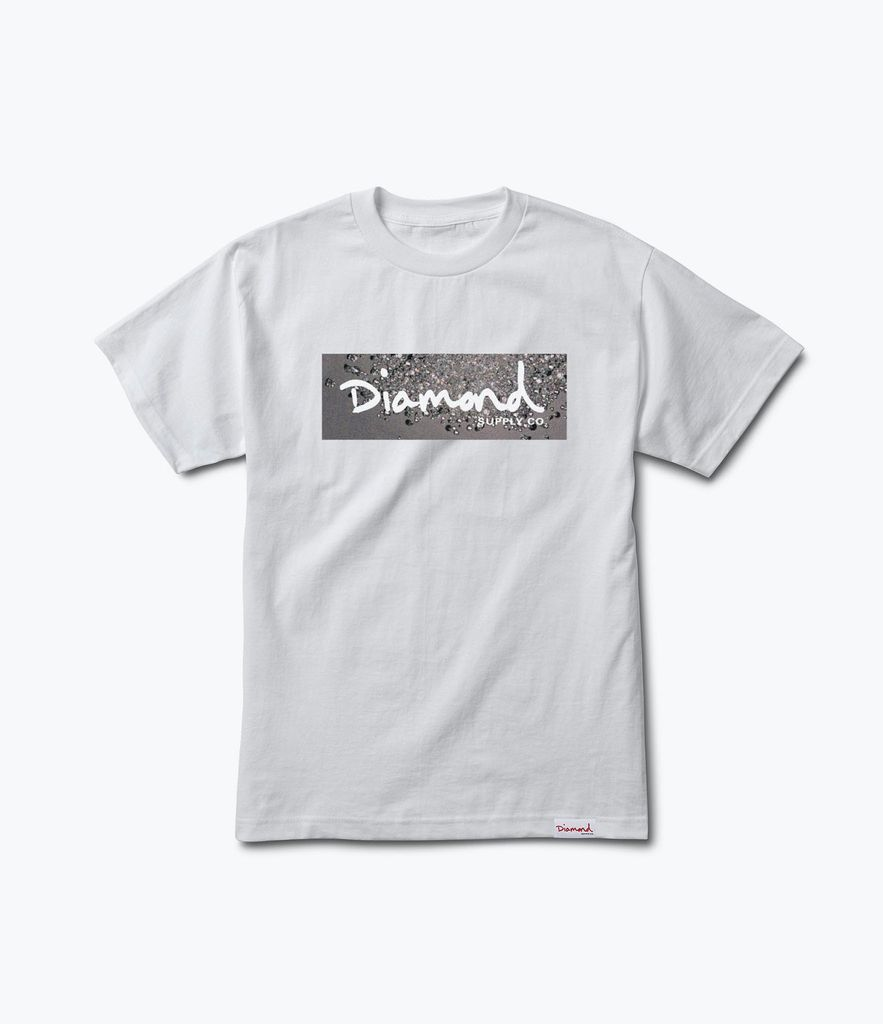 DIAMOND DIAMOND, SCATTER BOX LOGO TEE