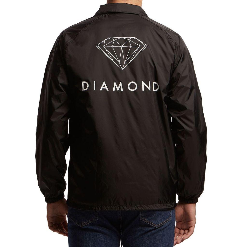 DIAMOND DIAMOND, FUTURA SIGN COACH JACKET