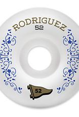 PRIMITIVE PRIMITIVE, WHEELS, RODRIGUEZ VICTORY WHEEL, 1 WHITE, 52 mm
