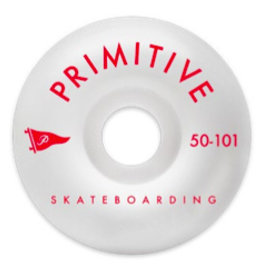 PRIMITIVE PRIMITIVE, WHEELS, PENNANT ARCH TEAM WHEEL, 1 RED, 50 mm