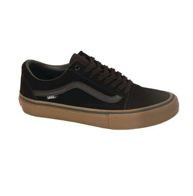 VANS MN OLD SKOOL PRO BLACK/GUM/GUM